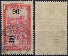 MADAGASCAR 150 (o) Transport En Filanzane Surchargé 1922 - 1927 - Used Stamps