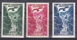 ANDORRE FRANCAIS :  PA 2-3-4 Neuf XX   Cote 200 € - Poste Aérienne