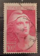 France/French Stamp 1945-47 N°733b à La Bretelle Oblitéré  **TB - Gebraucht