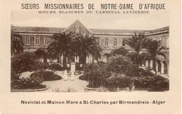 ALGER -  ST CHARLES PAR BIRMANDREIS- DEPLIANT SOEURS MISSIONNAIRES DE NOTRE DAME D'AFRIQUE - Tourism Brochures