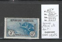 France - Yvert 155* - 5fr + 5fr Orphelins - 1ere Série - SIGNE CALVES - Unused Stamps