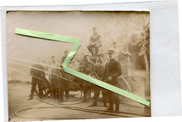Chalons Sur Marne  1918 Pompiers  Photo ( Format 85mm Sur 113 Mm) - Châlons-sur-Marne