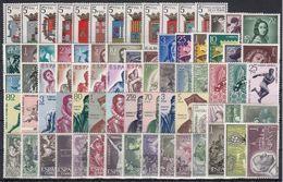 ESPAÑA 1962 Nº1406/1480 AÑO NUEVO COMPLETO,75 SELLOS CON ESCUDOS - Full Years