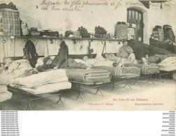 WW 88 LES VOSGES. Militaires Se Reposant Dans La Chambre Commune 1908. Collection Dehan à Epinal - Epinal