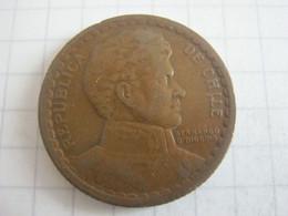 Chile 1 Peso 1943 - Chili