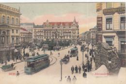 BERLIN / ALEXANDERPLATZ / TRAM / TRAMWAYS 1904 - Mitte