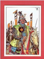 SENGOKU DAIMYO AU MASQUE ROUGE 1986 GIGI EDITIONS AEDENA CARTE POSTALE EN BON ETAT - Cartoline Postali
