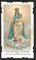 Santino/holycard: REGINA DECOR CARMELI - Santuario - Arenzano - Ed. S. LEGA - MI - Religión & Esoterismo