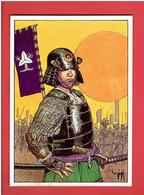 L ETENDARD DES MIZUNO 1986 GIGI EDITIONS AEDENA CARTE POSTALE EN BON ETAT - Cartoline Postali