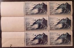 France/French Stamp 1946  N°764 Bloc De 6 BdF Avec Défaut D'essuyage **TB - Ongebruikt
