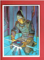 LE CRISTAL QUI CHANTE 1985 JEAN GIR EDITIONS AEDENA CARTE POSTALE EN BON ETAT - Cartoline Postali