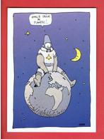DROLE DE PLANETE 1985 JEAN GIR EDITIONS AEDENA CARTE POSTALE EN BON ETAT - Cartoline Postali