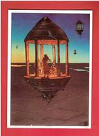 KIOSQUE A MUSIQUE 1985 JEAN GIR EDITIONS AEDENA CARTE POSTALE EN BON ETAT - Cartoline Postali