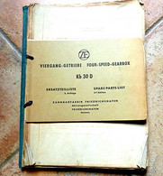 ZF, VIERGANG-GETRIEBE  FOUR-SPEED-GEARBOX, Boîte Vitesse BOSCH, Moteur D'Entraînement DEUTZ, Pelle Hydraulique - Shop-Manuals