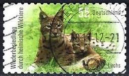 German Federal Republic 2012 - Mi 2921 - YT 2747 ( Eurasian Lynx ) Perf. 10 - Felini