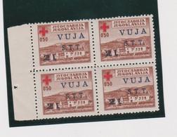 YUGOSLAVIA, TRIESTE B Charity Stamp Bloc Of 4 MNH - Ongebruikt