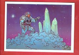 CRISTAL COSMIQUE 1985 JEAN GIR EDITIONS AEDENA CARTE POSTALE EN BON ETAT - Cartoline Postali
