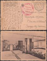 Belgique 1944 - Carte Postale En Franchise OVERIYSE De Bruges Vers Bouges (Namur). Cachet Croix Rouge (DD) DC-9832 - Lettere