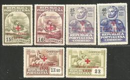 742 Portugal 1928 Camoens Red Cross Overprint Croix Rouge MNH ** Neuf SC (POR-137) - Croce Rossa
