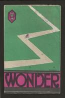 """1930 Env. Catalogue Dépliant  """" WONDER """" Bicyclettes De Courses,hommes,femmes Et Enfants à Saint Etienne - 1900 – 1949"""