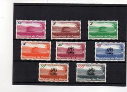 EDY504 - CONGO , Due Serie Integre ***  MNH - Repubblica Del Congo (1960-64)