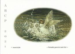 BUZIN. LE GARROT A OEIL D'OR - 1985-.. Pájaros (Buzin)
