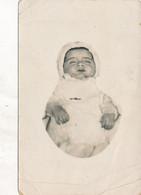 Carte-Photo : Enfant Post-mortem Postmortem (Ca 1900-1910) (BP) - Antiche (ante 1900)