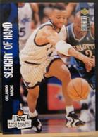 N° 174 ORLANDO MAGIC - SLEGHT OF HAND   - I LOVE THIS TEAM!- BASKETBALL - BASKET  - UPPER DECK 1995/96 SERIE 2 - 1990-1999