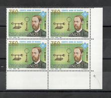 San Marino - 1992 - Quartina  Da Lire 750 - Cento Anni Di Radio - Nuova** - (FDC27487) - Unused Stamps
