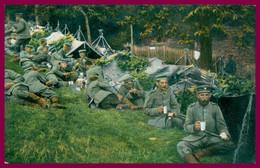 Kriegsbilder Aus Den Vogesen - Lager - Militaires - Repas - Tentes - Repos - Edit. EMIL HARTMANN - 1920 - Weltkrieg 1914-18