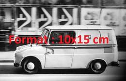"""Reproduction Photographie Ancienne De La Camionnette VW Type 147 """"Fridolin"""" De Livraison PTTSuisse 1970 - Reproductions"""