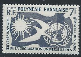 Polynésie YT 12 Neuf Sans Charnière - XX - MNH - Nuevos