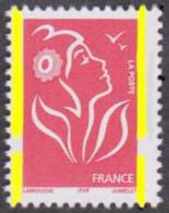 France Marianne De Lamouche N° 3734 H ** Légende ITFV - TVP Rouge - Variété Du Phosphore; à Cheval (70/30) - 2004-08 Marianne De Lamouche