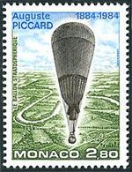 Monaco 1984  Ballon Balloon Globo Luftballon  Auguste Piccard F.N.R.S.1 - Altri (Aria)