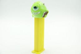 Vintage PEZ DISPENSER : Mike - Monsters Inc - 2013 - Us Patent China Made L=11cm - Non Classificati
