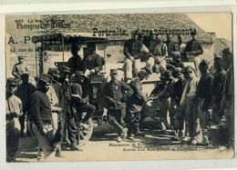 LANGRES Manoeuvres 1906, Arrivée Auto Camion-modèle DAC- Au Campement ( Ravitaillement En Eau), Pourtoy 451, Pas Courant - Langres