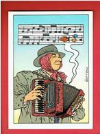 BOURBON THRET 1985 GEOF DARROW EDITIONS AEDENA CARTE POSTALE EN BON ETAT - Cartoline Postali