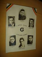 A VOIR !! GRANDE PHOTO - MILITARIA RESISTANCE BELGE WW2 - JURBISE NIMY CAMBRON LENS BRUGELETTE ( AS ARMEE SECRETE ? ) - Oorlog, Militair