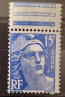 France/French Stamp 1951 N°886 Marianne De Gandon Gros 15 Et RF BdF **TB - Ungebraucht