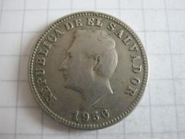 El Salvador 5 Centavos 1956 - El Salvador