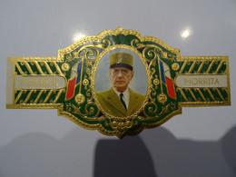 Bague De Cigare MORRITA Président De Gaulle   150x 75 Cm - Anelli Da Sigari