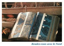 59 - Caudry - Musée De La Dentelle - Livre D'échantillons - CPM - Carte Neuve - Voir Scans Recto-Verso - Caudry