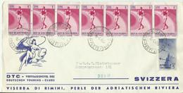 SAN MARINO CV 1955 Mef - Covers & Documents
