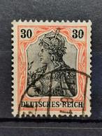 Deutsche Reich Mi-Nr. 89 Ll Y Gestempelt Geprüft BPP KW 110€ - Gebraucht
