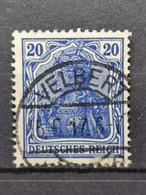 Deutsche Reich Mi-Nr. 87ll B Gestempelt Geprüft BPP KW 130€ - Gebraucht