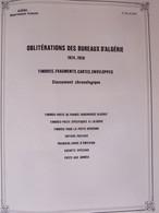 ALGERIE Département FRANCAIS. Feuilles: Oblitérations Des Bureaux D'Algérie 1924-1958 - Collezioni & Lotti