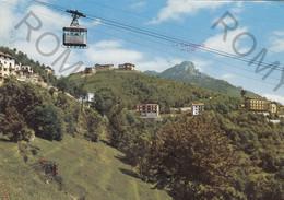 CARTOLINA  SELVINO, BERGAMO, LOMBARDIA,FUNIVIA ALBINO-SELVINO, PANORAMA,MONTAGNA,VACANZA, LA NEVE,VIAGGIATA 1967 - Bergamo