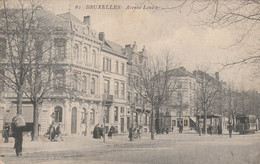 Bruxelles , Avenue Louise ,  N° 62 ,Tram , Tramway - Avenidas, Bulevares