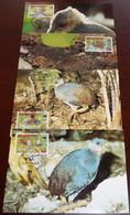 Niuafo'ou - 1992 - N°Yv. 175 à 178 - Mégapode / WWF - Maxi Cards / Cartes Maxi - Non Classificati