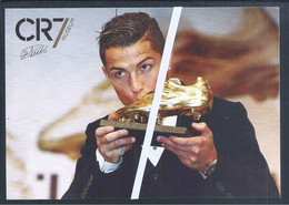 Museu CR7 Cristiano Ronaldo. Soccer. Voetbal. Calcio. Bota De Oro. Postal Stationery Free Franchise. Golden Boot. - Covers & Documents
